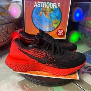 🆕 NikeEpic React Flyknit 2 'Black Infrared